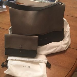 Authentic Celine All Soft Bag w Pouch